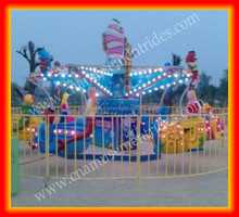Attractive kids loved Indoor&outdoor family game rides garden amusement rides Ocean Walk for sale