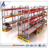 Coldroom warehouse heavy duty corrosion protected pallet storage racking system