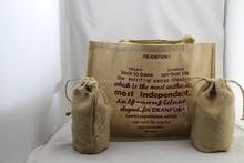 2015 fashion jute tote bag & jute shopping bag