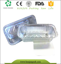 F58085 cheap alu to go food packaging