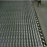 Heat resistant stainless steel food industry Compound balanced belt such as screw