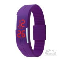 Colorful Sports Silicone Digital LED Bracelet Wrist graduation gift