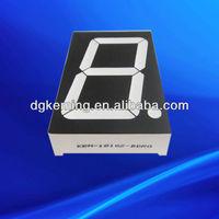 Chinese Bi-color led number 7 segment display 1.8 inch