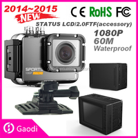 Wifi full hd 1080p action sports camera go pro style 30m waterproof