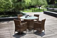 2015 new item garden leisure HB21.9078 dinning chair table set