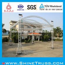 arco del techo truss escenario al aire libre diseño del truss