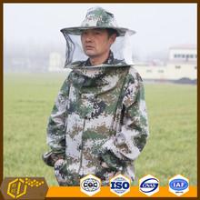 Venda quente apicultura vestuário / barato e durável bee suit meio corpo