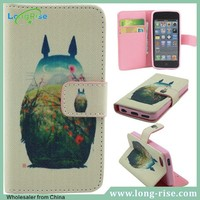 Wholesale Moibile Phone Accessories for iPhone5c Cases with Card Holder