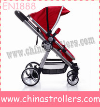 baby stroller with Link-brake rear wheels
