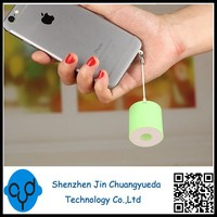 The Most Globle Smallest Bluetooth Portable Speaker Round With Camera Shutter , Bluetooth Calls and Anti Lost Function