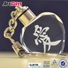 Factory supply crystal heart key chain