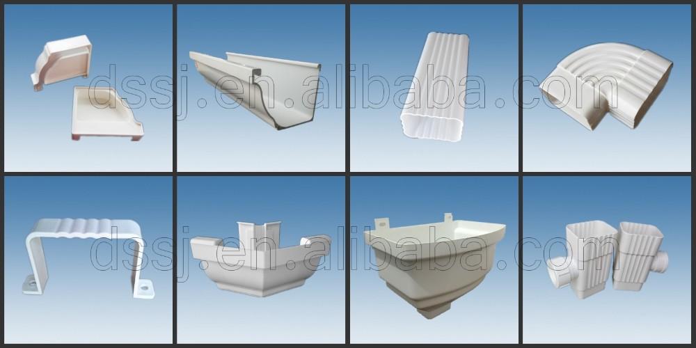PVC 빗물 홈통/PVC 지붕 거터/PVC 처마 채널-플라스틱 프로필 -상품 ...
