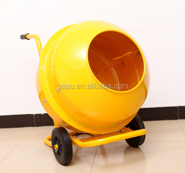 Used Small Cement Mixers : Mini portable electric concrete mixer used for industry
