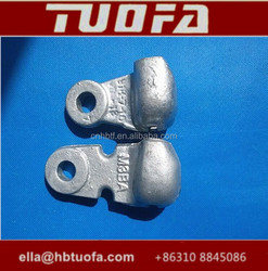 Hebei TuoFa Brand Socket Eye Short for 52-3 w-7A / Socket Eye Large for 52-3 w-7B / Socket Clevis Eye with Rate Failure 70KN