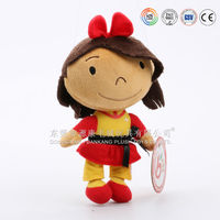 ICTI audited gift factory making various lovely plush doll clothes for dolls