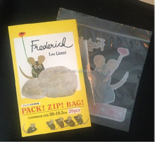 Plastic Printed ziplock bag for household