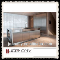 Stainless steel kitchen Cabinet Design in China