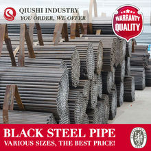 BLACK SCAFFOLDING STEEL PIPE STRUCTURAL PRODUCTION TRADING COMPANY