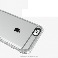 for iPhone 6 Plus Case, for iPhone 6s Plus Case, Hybrid Case Clear Back + Soft Rubber Bumper Protective Case for 5.5 inches iPho