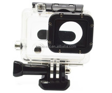 Basecent GP28 Transparent Blue Green Red Waterproof Case for Gopro Hero 3