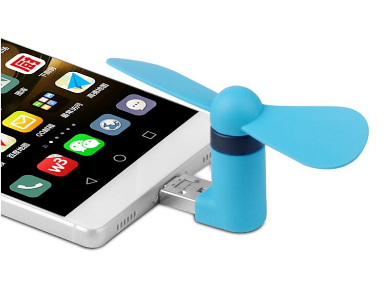 Android Fan Micro Usb Mobile Phone Fans Portable Mini Fans