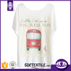 Hot Sale Women Clothing Digital Custom T-shirt Printing Manufacturer