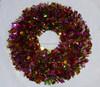 Decorative Christmas PET Wreath for Door Decoration