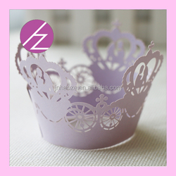 Cheap and good quality cupcake crafts cupcake with luxury crown a cupcake with various style and very colourful DG-24