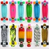 2014 New Design water transfer print Series LEOPARD blue penny skateboards for sale cheap