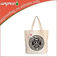 One Piece Logo Canvas Shopping Bag For Boys