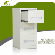 3 drawers file cabinet/vertical drawer cabinet