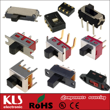 Good quality micro switches and slide switches UL VDE CSA CE ROHS 25 KLS