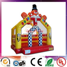 inflatable clown bouncer, inflatable jumping castle