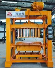 QT4-40 fly ash block making machine, concrete brick machine, cement, gravel making machine