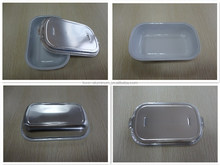 High Quality Food Grade Hot Sale Airline Aluminum Foil Food Container Serving Tray High Quality