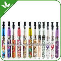 Electronic cigarette eGo batteries decorative pattern e cig