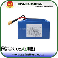 Two Wheel Smart Balance whell 36v 4.4ah lithium battery pack