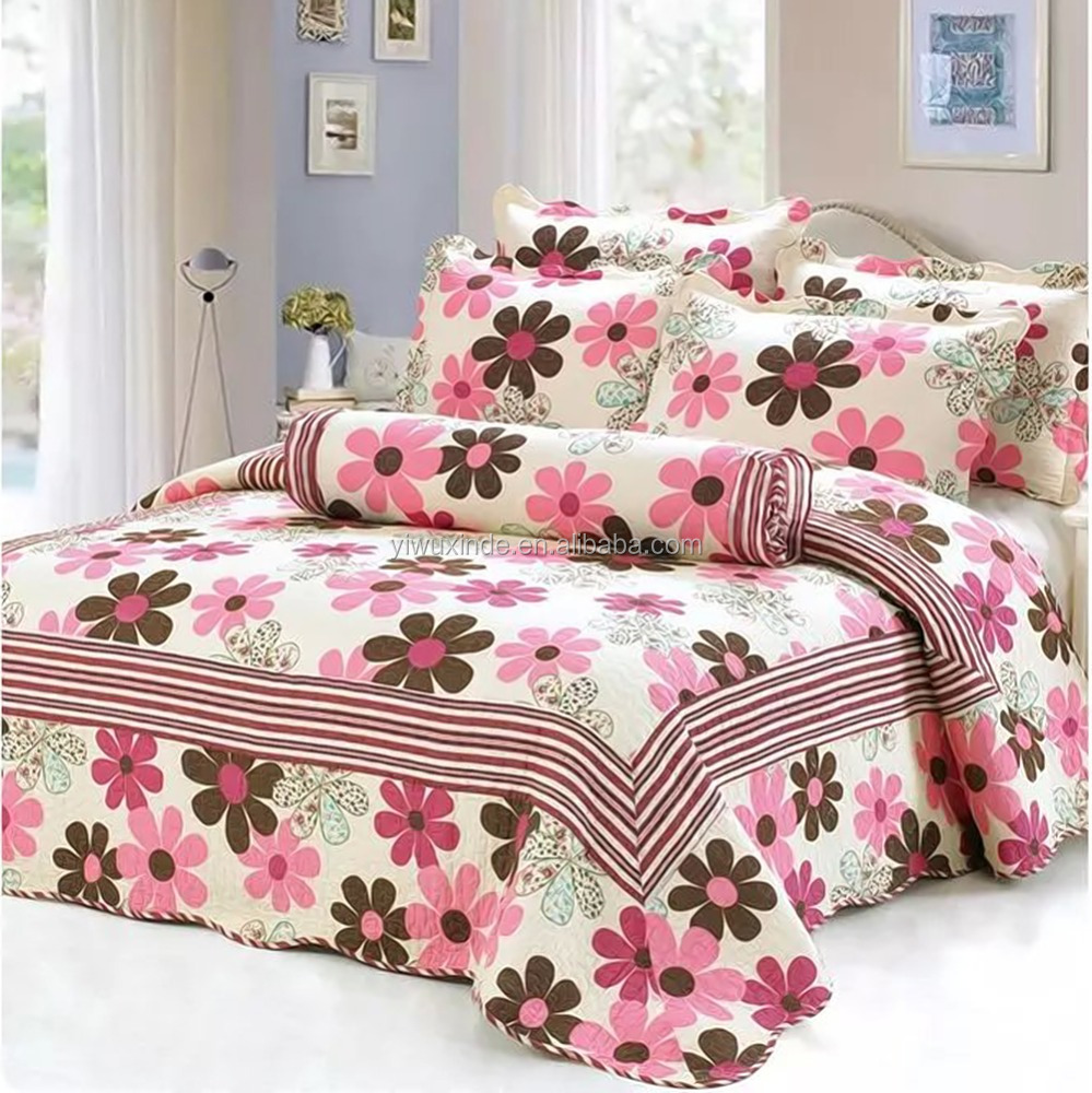 wholesale king size fitted luxury cotton quilted wedding bedspread buy wedding bedspread. Black Bedroom Furniture Sets. Home Design Ideas