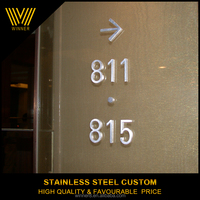 100% Manufacturer Competitive Price door hotel signs