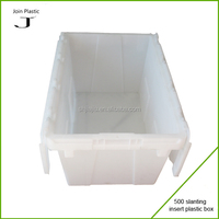 plastic carrying case with compartments