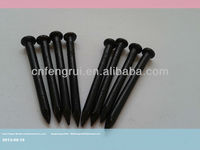 Hot sale high-strengh black concrete steel nails factory