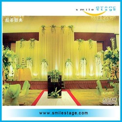 durable pipe and drape for wedding and event
