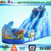 cheap shark slide, used cheap commercial inflatable water slides for sale