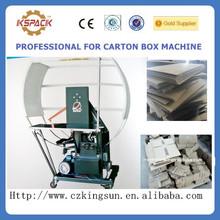 tablero pequeño paquete o caja de agrupación máquinas / periódico o flejes de cartón y la agrupación de máquina