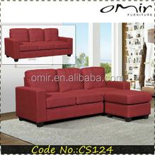 CS124 trade assurance corner sofa with ottoman