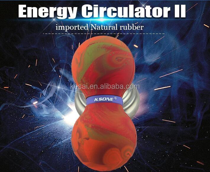 Ponto duplo lacrosse despoletou esfera da massagem em forma de amendoim