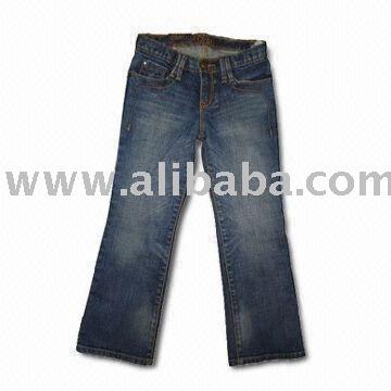 """"""" Para mujer del dril de algodón de los pantalones vaqueros pantalones """" mucho Stock"""