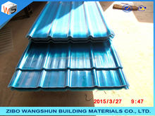 Hot dip galvanized corrugated steel roofing tile