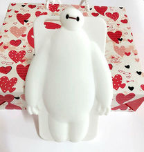 For iphone 6 Case Silicone Cute Mr White,For iphone 6 Silicone Skin Case 3D Cartoon,Silicone Phone Case Wholesale