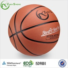 Zhensheng Custom PU Leather Basketball BallTraining basketball official size 7 Basketball